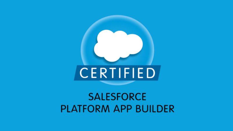 Salesforce Certification Training Administrator App Builder